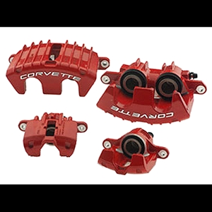 Corvette ZO6 Red Caliper Set-Fits 97-04 C5 & Z06