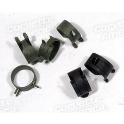 Corvette Fuel Line Hose Clamps. Afb Or Fuel Injection: 1965