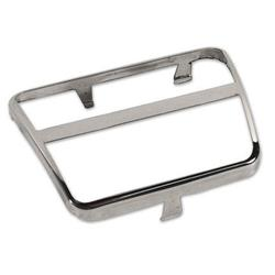 Corvette Pedal Pad Trim. Brake Or Clutch - Stainless Steel: 1968-1979