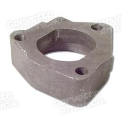 Corvette Exhaust Heat Valve Spacer. 2 Inch W/Fuel Injection: 1957-1961