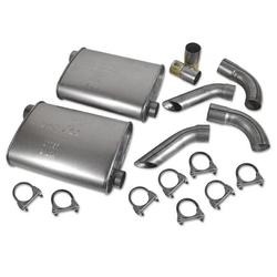 Corvette Dynomax Super Turbo Mufflers.: 1974-1982