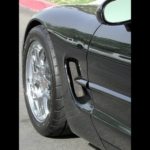 Corvette 97-04 C5 / Z06 Side Fender Screen - Set