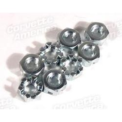 Corvette Rear Bumper Nut Set. Marsden 8 Piece: 1958-1960