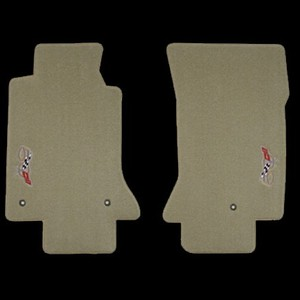Corvette 2003 50th Anniversary  Ultimat Floor Mats From Loyds