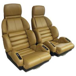 Corvette Leather Seat Covers. Saddle Sport: 1989-1990