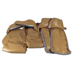 Corvette Leather Like Seat Covers. Saddle Sport: 1984-1987