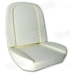 Corvette Seat Foam. 4 Piece Set: 1963