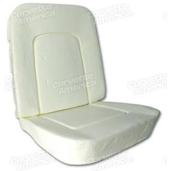 Corvette Seat Foam. 4 Piece Set: 1965