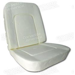 Corvette Seat Foam. 4 Piece Set: 1966