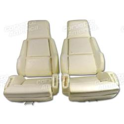 Corvette Seat Foam. Sport 4 Piece Set: 1984-1988