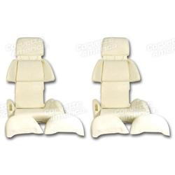 Corvette Seat Foam. Sport 4 Piece Set: 1991-1993