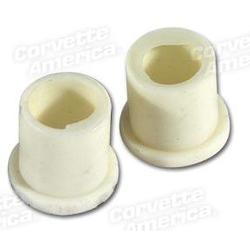 Corvette Accelerator Pedal Swivel Rod Bushings.: 1963-1967