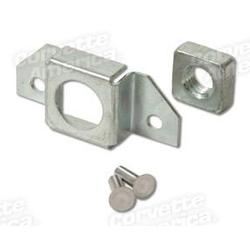 Corvette Door Hinge Cage & Nut Assembly.: 1956-1962