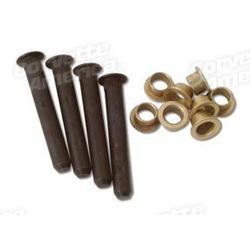 Corvette Door Hinge Pin & Bushing Set.: 1956-1962