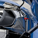 Corvette Radiator Duct Cover - Polished : C7 Stingray, Z51, Z06, Grand Sport