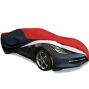 Corvette Ultraguard Plus Car Cover - Indoor/Outdoor Protection - Red/Black : C7 Stingray, Z51, Z06, Grand Sport