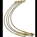 Corvette Goodridge G-Stop Brake Lines - Stainless Steel (Set) : 2005-2013 C6