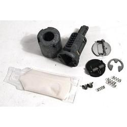 Corvette Door Lock Cylinder Kit. Uncoded: 1984-1990