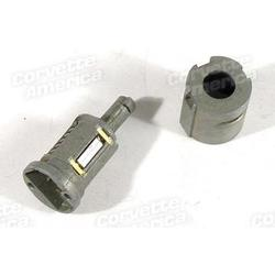 Corvette Door Lock Cylinder Kit. Uncoded: 1991-1996