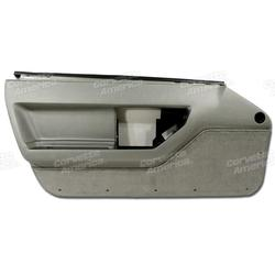 Corvette Door Panel. Gray LH: 1984-1987