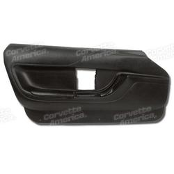Corvette Door Panel - Black Convertible LH: 1994-1996