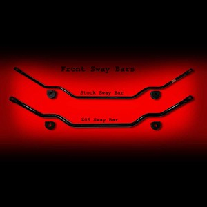 Corvette C6 Z06 Front Sway Bar