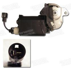 Corvette Power Window Motor - Right Hand - Flat Style 76E: 1968-1976