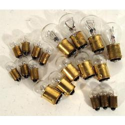 Corvette Light Bulb Kit. 17 Piece: 1960