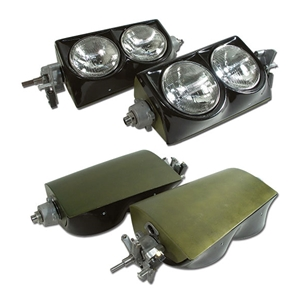 Corvette Headlight Assembly. LH & RH: 1963-1967