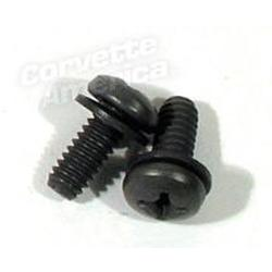 Corvette Headlight/Nose Support Rod Bracket Bolts.: 1963-1967