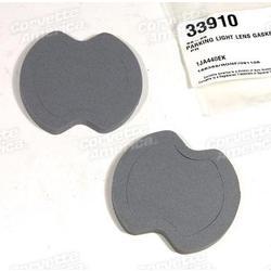 Corvette Parking Light Lens Gaskets.: 1968-1969