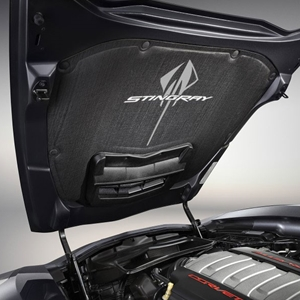2014 C7 Corvette Stingray Underhood Liner, Stingray Logo