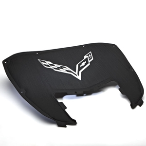 2014 Corvette Stingray Underhood Liner, Stingray Logo