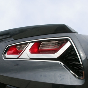 C7 Corvette Stingray Taillight Trim Kit : 2014+
