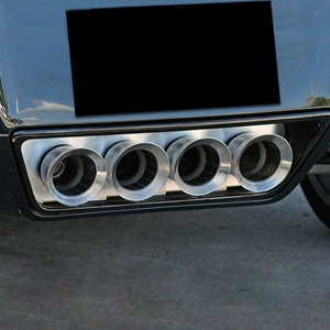 C7 Corvette Exhaust Port Filler Panel - NPP+Dual-Mode : Stingray, Z06, Grand Sport, ZR1