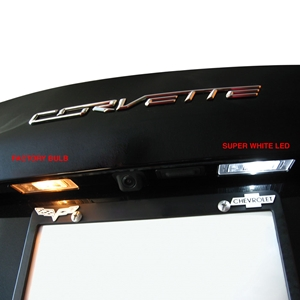 C7 Corvette - Rear Hatch & License Plate LED Bulb Lighting Kit : Stingray, Z51, Z06, Grand Sport, ZR1
