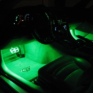 Corvette Footwell LED Lighting Kit : 1997-2004 C5