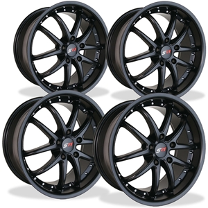 Corvette SR1 Performance Wheels - APEX Series (Set) - Semi Gloss Black