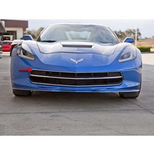 2014, 2015, 2016, 2017, C7 Corvette Stingray Front Grille Factory Trim Ring Polished