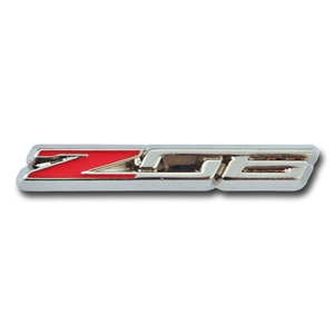 2015, 2016, 2017, C7 Corvette Z06 Emblem Beveled Lapel Pin