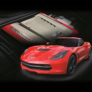 2014,2015,2016,2017, C7Corvette Stingray LT1 Supercharger Stage 1 Street Kit - Edelbrock E-Force