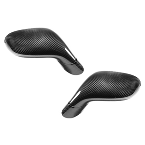 Corvette Replacement Side Mirrors - Carbon Fiber : 2005-2013 C6, Z06, ZR1 & Grand Sport