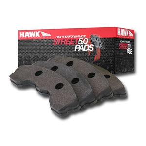 Corvette Brake Pads - Hawk High Performance  Street 5.0 - Front : 1988-1996