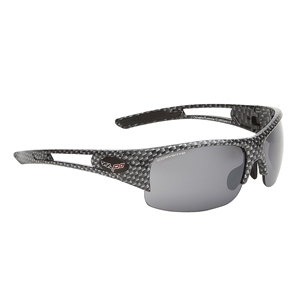 Corvette Sunglasses - Rimless Carbon Fiber : C6 Logo