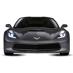 2014 C7 Corvette Stingray Front Grille - Urban : Black