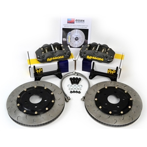 C6 Corvette Brake Package - AP Racing Front Big Brakes 4-Piston (Sprint)