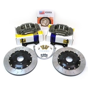 C6 Corvette Brake Package - AP Racing Front Big Brakes 6-Piston (Endurance)