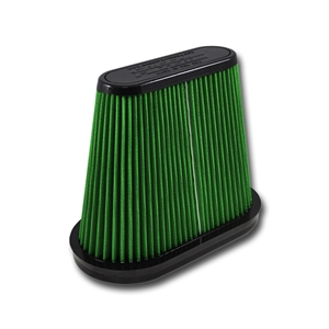 C7 Corvette Stingray, Z06, Grand Sport, ZR1 Green Filter Direct-Fit Replacement Air Filter