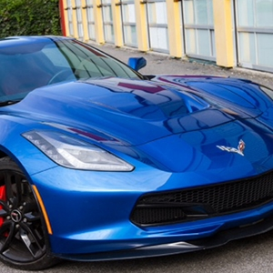 2014,2015,2016,2017, C7 Corvette Stingray Extractor Hood Carbon Fiber - Zero7