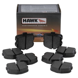 Corvette Brake Pads - Hawk HPS (Street) Rear Original Multi-Piece : 2006-2013 Z06 & Grand Sport